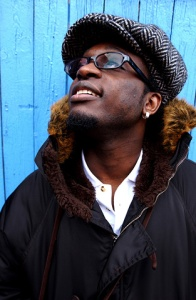 Portrait du chanteur Corneille pour Rolling Stone