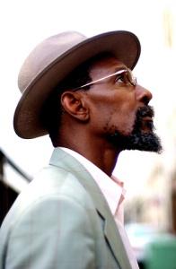 Portrait du chanteur Linton Kwesi Johnson