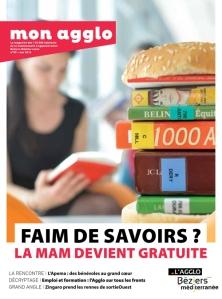 Médiathèque André Malraux en couverture du magazine Aqui!