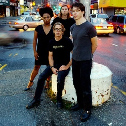 Portrait du groupe the Bellrays