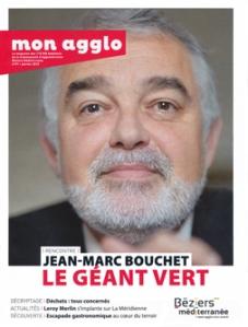Jean-Marc Bouchet en couverture du magazine Aqui!