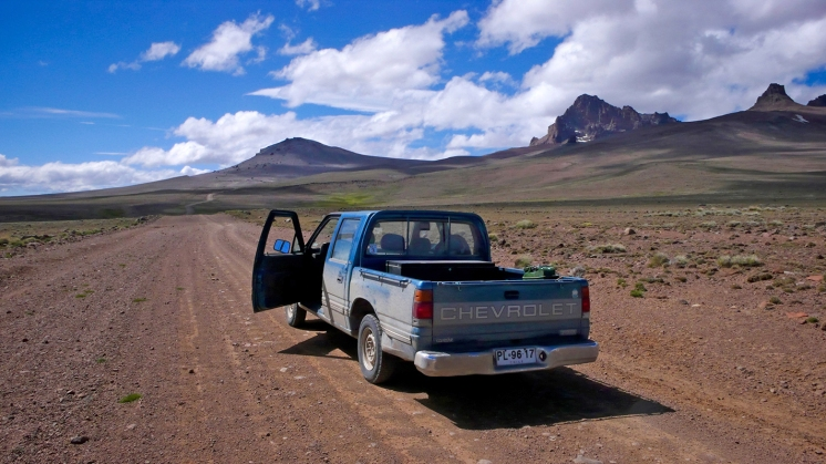 Pick-up Chevrolet en Patagonie