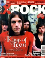 Kings of Leon en couverture du magazine X-Rock