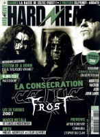 Celtic Frost en couverture du magazine Hard'n'Heavy