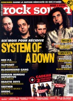 System of a Down en couverture du magazine Rocksound