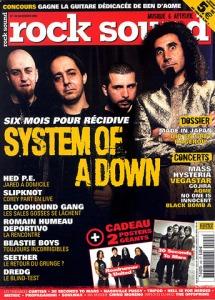 System Of A Down. Photographe indépendant à Béziers