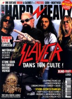 Slayer en couverture du magazine Hard'n'Heavy