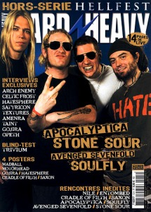 Couverture du magazine Hard'nHeavy hors-serie Hellfest