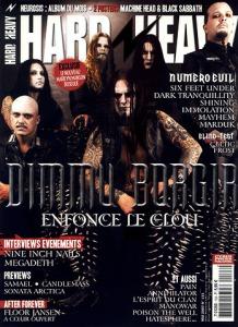 Dimmu Borgir en couverture du magazine Hard'n'Heavy
