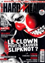 Slipknot en couverture du magazine Hard'n'Heavy