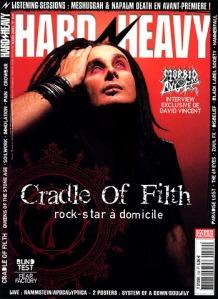 Craddle Of Filth. Photographe indépendant à Béziers