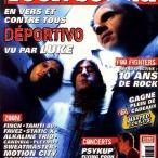 Déportivo en couverture du magazine Rocksound