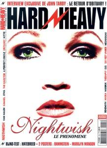 Nightwish en couverture du magazine Hard'n'Heavy