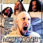 Meshuggah en couverture du magazine Hard'n'Heavy