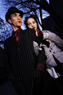 Portrait du groupe the Dresden Dolls
