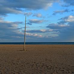 La plage de Serignan Plages