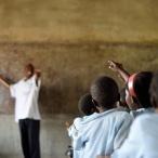École rurale dans les environs de Kapiri Mposhi en Zambie