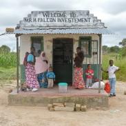 Commerce près de Kapiri Mposhi en Zambie