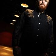 Portrait de Brent Hinds guitariste du groupe Mastodon