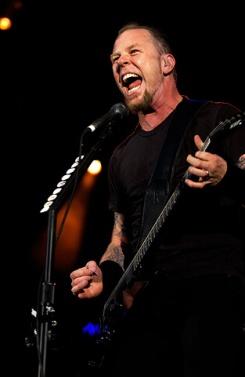 Metallica en concert au Parc des Princes