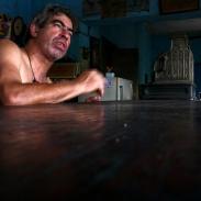 Au bar à Paysandu en Uruguay