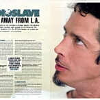 Chris Cornell du groupe Audioslave dans Hard'n'Heavy