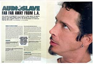 Chris Cornell du groupe Audioslave dans Hard'n'Heavy