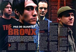 Portrait du groupe the Bronx pour le magazine Rocksound