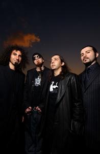 Portrait du groupe System of a Down