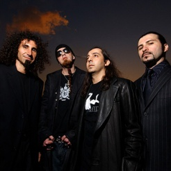 Portrait du groupe System of a Down