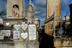 Cimetière vieux de Béziers le jour de la Toussaint
