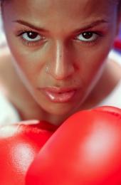 Portrait de Nadiya sur le tournage d'un clip