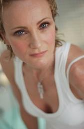Portrait de Patricia Kaas sur le tournage d'un clip