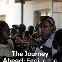"Couverture du livre ""The Journey Ahead"""