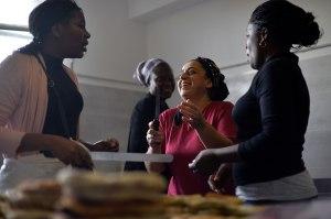 L'atelier cuisine de la Cimade de Béziers