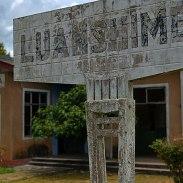 Gare désaffectée de Luanshimba en Zambie