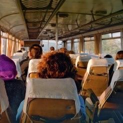 Voyage en bus en Bulgarie au début des années 90