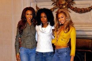 Photocall Destiny's Child au Ritz à Paris
