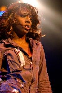 Kelly Rowland en concert à l'Olympia de Paris