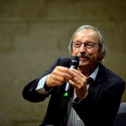 Didier Daeninckx au Chapiteaux du livre. Scène de Bayssan. Béziers
