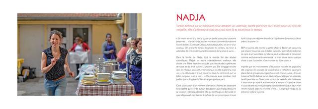 Cuisine d'Ailleurs Portrait de Nadja