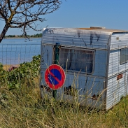 Caravane à Marseillan
